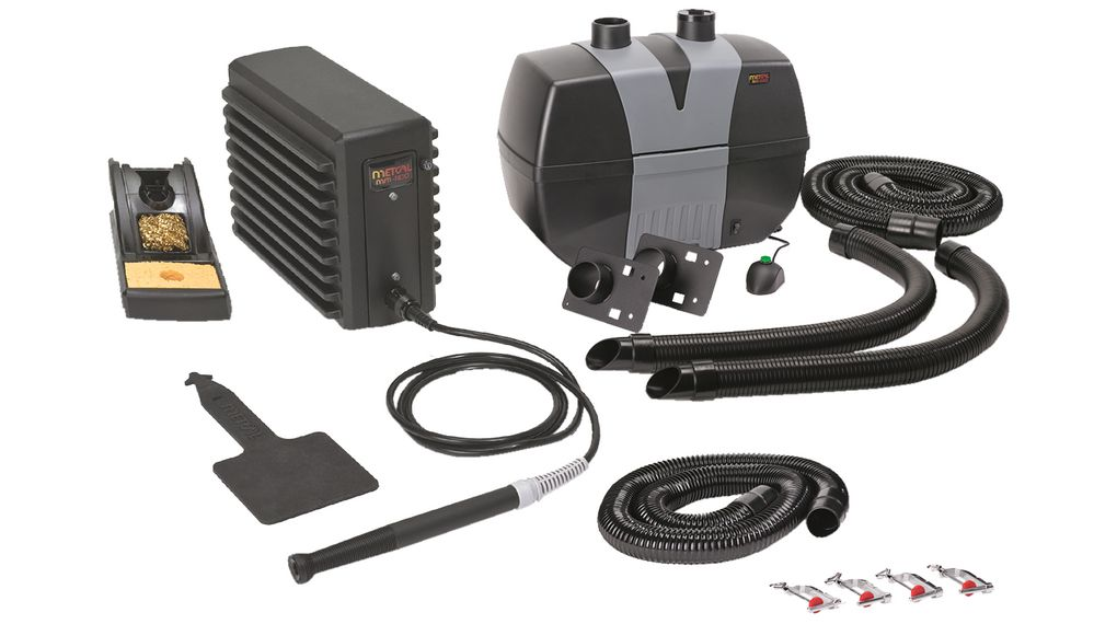 Fume Extractor and Soldering Station Kit 250m³/h 55dB