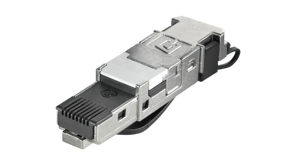 Kup CAT6a RJ45 Wtyk, IP20, IDC No Tool, T568A