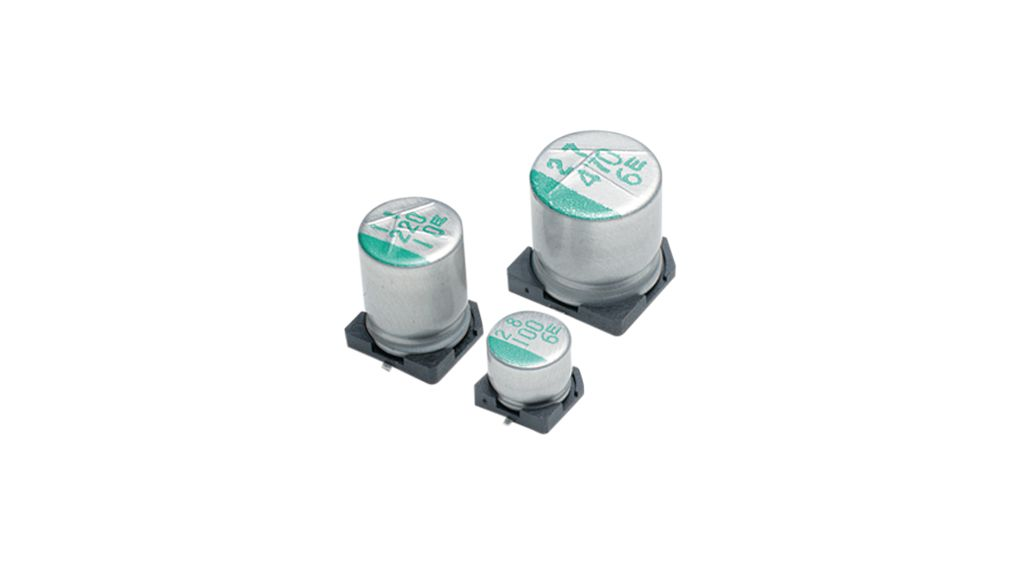 Buy SMD Electrolytic Capacitor 220 uF 50 VDC