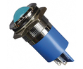 Buy LED Indicator Blue 22 mm 24 V