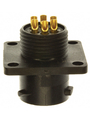 Panel Mount Socket with Flange UTS Hi Seal Poles=6 Female Housing size10 Buy {0}