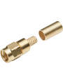 SMA cable connector, straight 50 Ohm, 18 GHz, Male, SMA Buy {0}