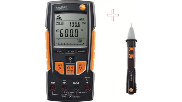 Testo digital multimeter + non-contact voltage tester